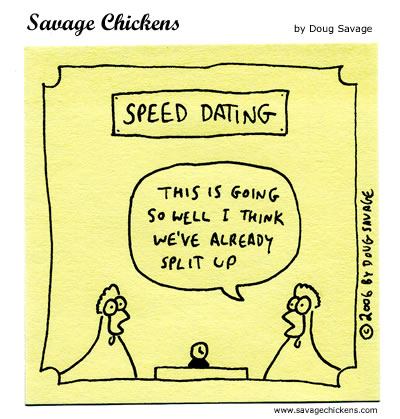 speed dating dating tips