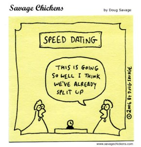 Adventures in Speed Dating: Survival Tips