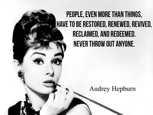 Audrey_Never Throw Out Anyone