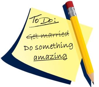 do something amazing